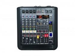 Westa - 4 Kanal Mono / 1 Kanal Stereo Power Mixer (2x280Watt)