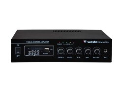 Westa - 80 Watt USB/MP3 Hat Trafolu LCD Ekran Mikser Amplifier