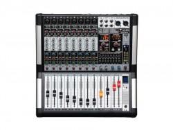 Westa - 8 Kanal Mono 99DSP Dijital Efekt Power Mixer (2x500Watt)