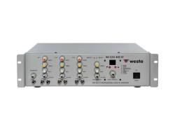 Westa - 400Watt 3 Mikrofon Mixer Amfi