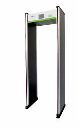 ZkTeco - 6 Bölge Kapı Tipi Metal Üst Arama Dedektörü